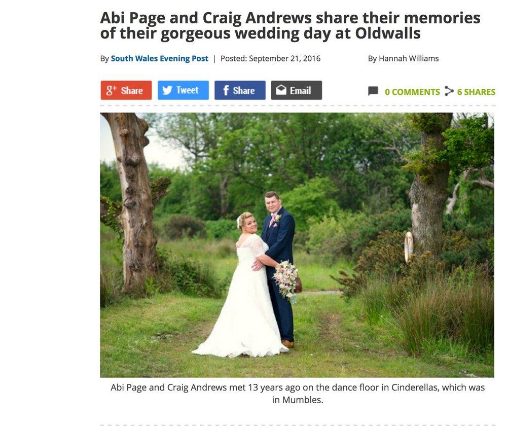 Abi Craig Swansea Life magazine