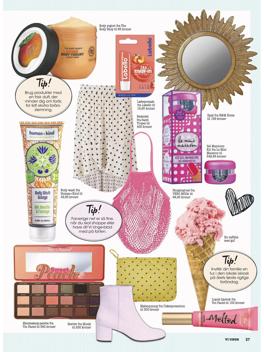 The Body Shop & Le Mini Macaron x Vi Unge