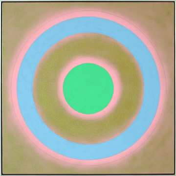 Kenneth Noland (1924-2010)   Mysteries: Gold Silence , 2002  Acrylic on Canvas