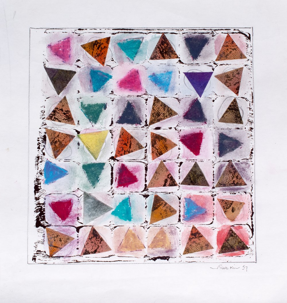 42 Triangles, 1957