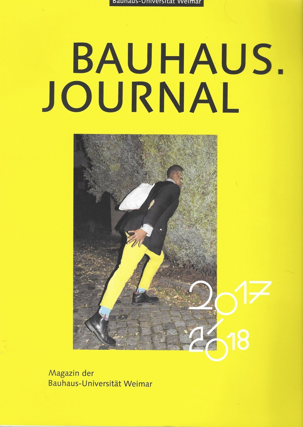 Bauhaus Journal Cover 2017/18