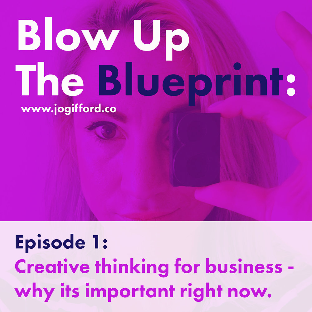 blow up the blueprint