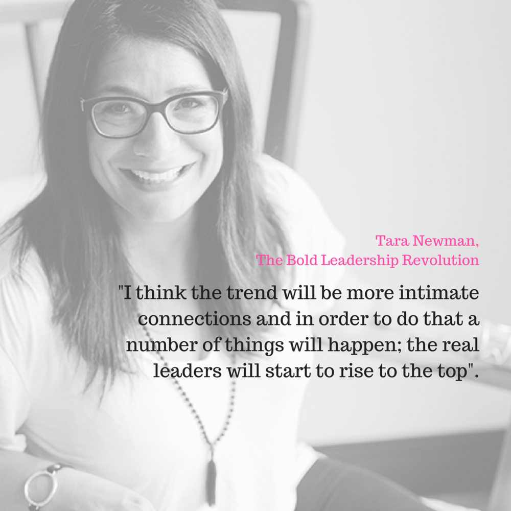 Tara Newman - Since 2012, I have been using Facebook groups to meet new and interesting people in all areas of life -- health, fitness, business, and motherhood to name a few.I enjoy connecting with new and inspiring people who I wouldn't normally have the opportunity of meeting.As a business owner, I use them the same way, to build relationships. My goal has always been to bring my online relationships offline, and to bring my offline relationships online.When I bring the people I meet online onto a phone call or meet them in person, it allows me to forge a deeper relationship.When people I know offline connect with my online (i.e. like my business page or join my Facebook group), it brings us in closer proximity to each other and establishes a deeper connection.My social media strategy has always been about engagement and not the numbers.Depth not width.I think the trend will be more intimate connections and in order to do that a number of things will happen; the real leaders will start to rise to the top.These are people who are CAPABLE of building relationships based on intimacy and vulnerability. In order for a leader to do that they must first connect to and be intimate with themselves.This is a very different level of leadership and is one of the highest levels of leadership.Groups will become smaller which will allow the leader to hold a safer and tighter container.A great group leader will foster relationship building over selling and gross self-promotion.We all know that no sale is created outside of a relationship anyway, right?Tara Newman, The Bold Leadership Revolution
