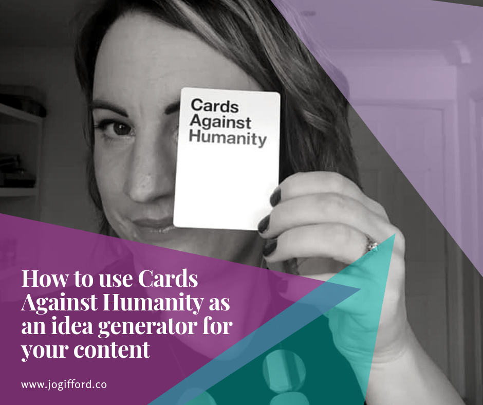 jo gifford cards against humanity