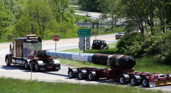 May 20, 2009 - The guns arrive at Boalsburg