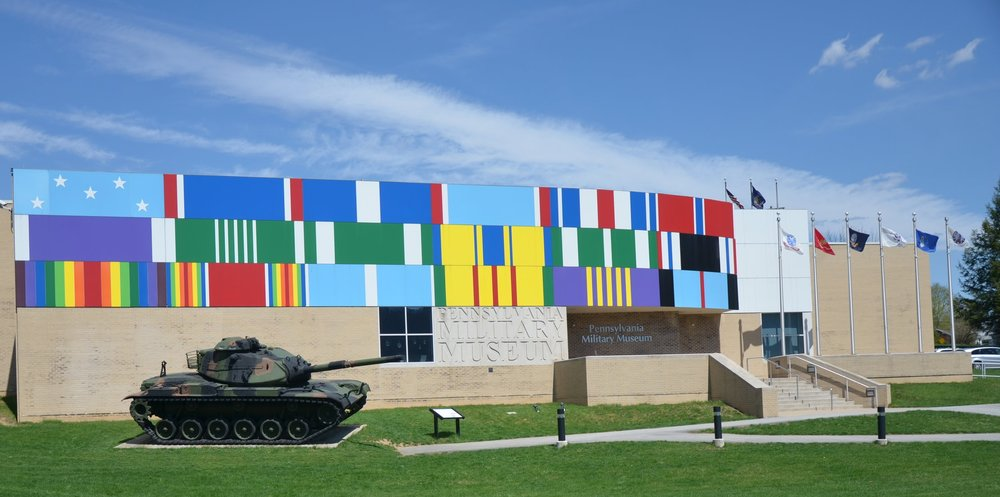 """Wall of Honor"" Museum Façade"