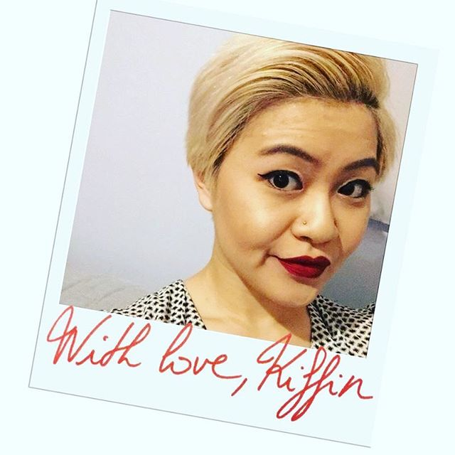 This month we are sending love to all the different and amazing people in the Kiffin story. We start with Michelle Li. A valued and long standing member of our team. It's been a joy to watch you grow, and an honour to work alongside you. Have a great day and we'll see you in the kitchen soon!