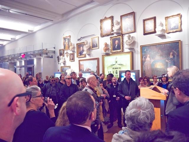 Museum Director speech
