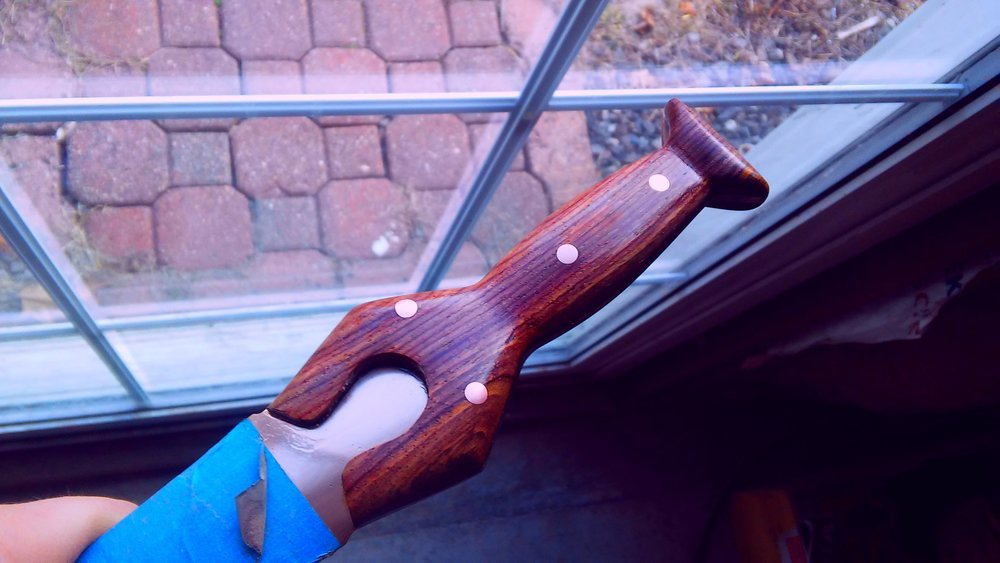 First coat of Formby's Tung Oil