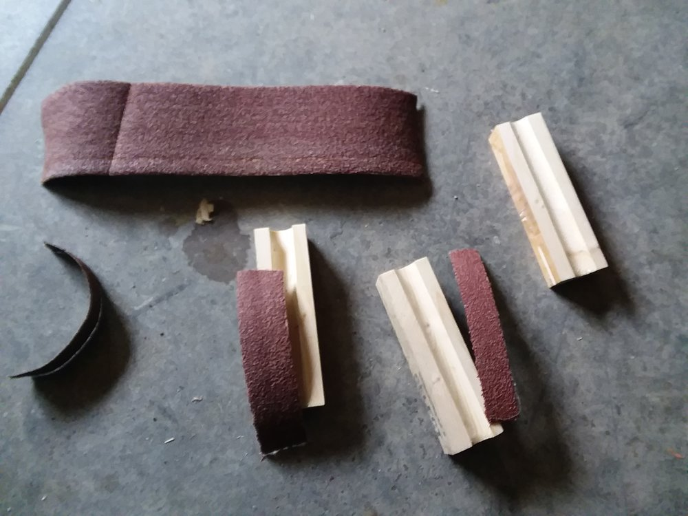 Sander belts make for long lasting coarse abrasives