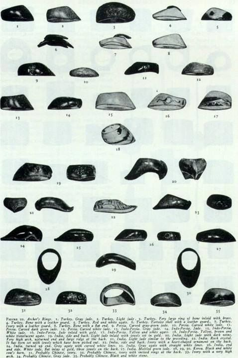 Examples of historic Turkisn rings, some of which share the style of our new offering.