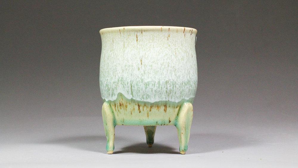 "4.25"" Leggy Orchid Display Pot"