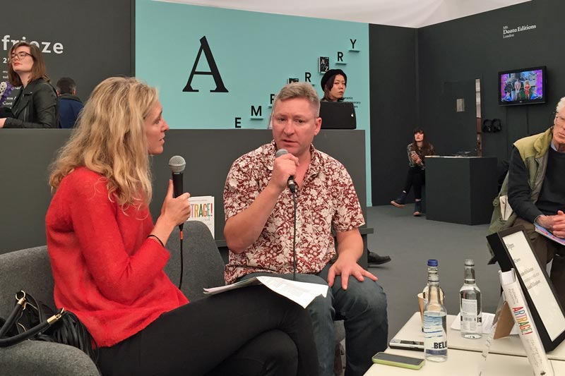 In conversation with Richard Billingham at Frieze, 2016
