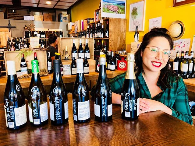 Here is Erin at the newest oldest wine shop in Seattle @ChampionWineCellars. She organized my white burgandys by functional occasions (hug, celebration, pick me up) and a scale of sharabilty.