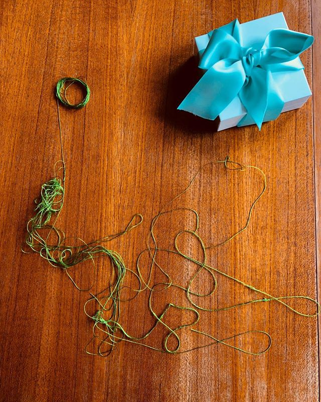 I love untangling nerdy knots. But when is it time to find other avenues...newways?