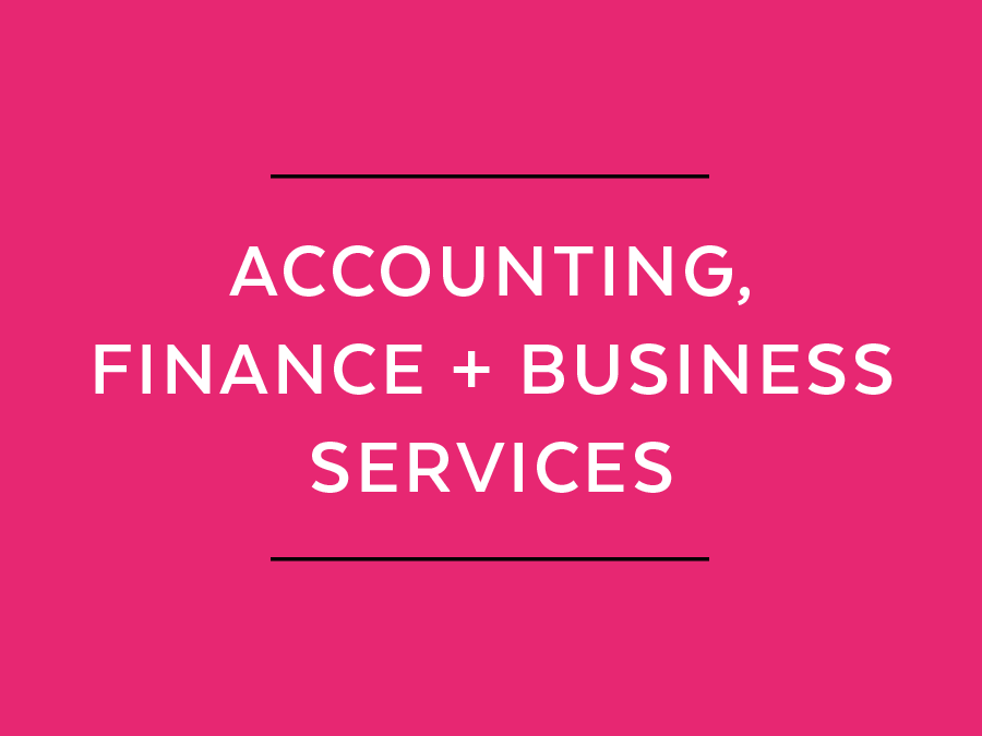 Accounting, finance and business services