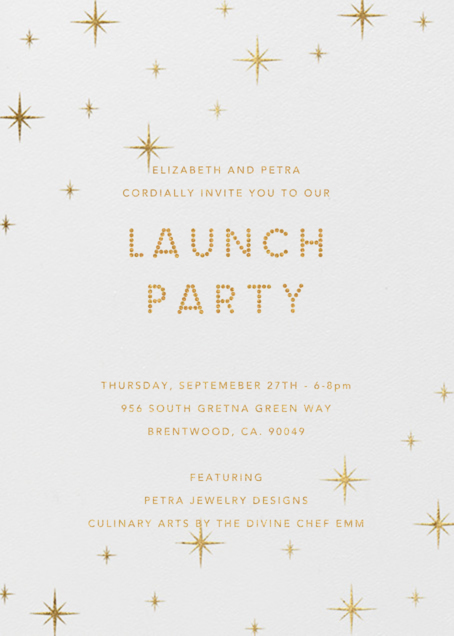 JEWELRY LINE AND CULINARY ARTS LAUNCH PARTY