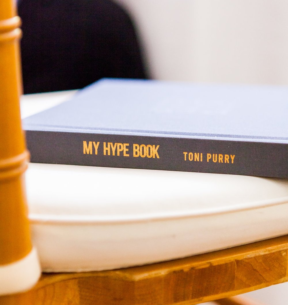 My Hype Book by Toni Purry