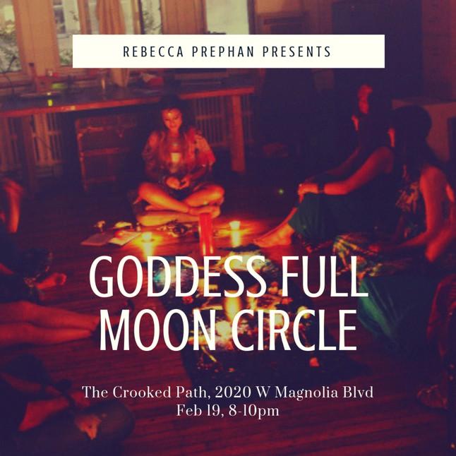 Goddess Full Moon Circle with Rebecca