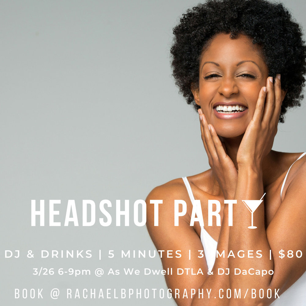 Headshot Party with Rachael Buechler Photography