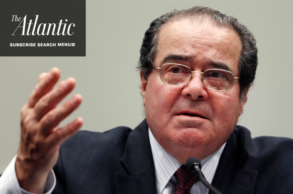 The atlantic: How Did Justice Scalia Shape American Policing?