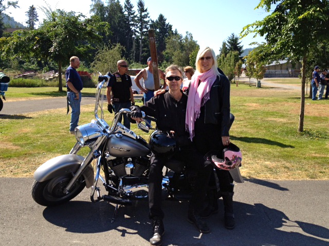 With JDB in Seattle with the Brothers In Arms Motorcycle Club (Seattle, WA)