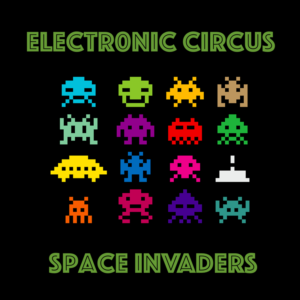 Space Invaders — (The) Electronic Circus | Official Band ...  Space Invaders Spaceship