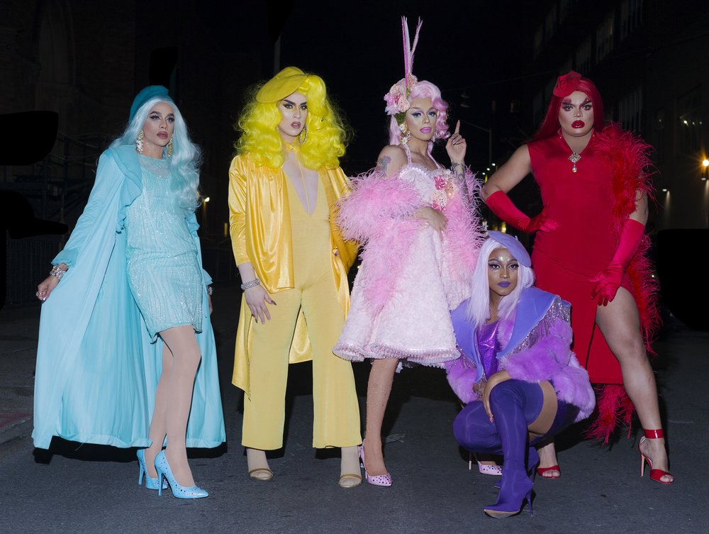 In 2015, Aja became the mother to the Haus of Aja - ...paying homage to the legendary tradition of the Harlem ballroom scene in which drag collectives would form a house. Momo Shade, Dahlia Sin, Kandy Muse and Janelle No.5 joined since the house's conception. Though each member is an instantly recognizable personality on their own, together they form a definable collective that is fashionably daring, powerfully engaging, and simply entertaining.  Booking Inquiries:Aja /// diana@monikermgt.comMomo Shade / Dahlia Sin / Kandy Muse / Janelle No.5 /// tyturkin@gmail.com