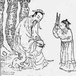 Tao Hongjing , autor de un tratado donde se mencionan por primera vez los sonidos curativos.