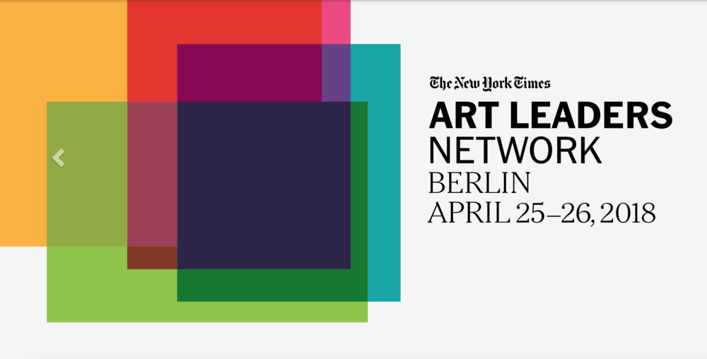 This April 25-26 in Berlin, The New York Times brings together a select group of the world's most distinguished art experts and influencers—from dealers and gallery owners to architects, museum directors and curators, from auctioneers and collectors to art industry advisers and corporate executives.  The economics and dynamics of the art market are changing faster than ever before; driven by new buying habits, an increasingly global clientele, and ever-higher pricing led by shifts in supply and demand. Devised specifically with art and cultural leaders at its core, the Art Leaders Network program will define and assess the most pressing challenges and opportunities in the industry today.  Through provocative interviews and riveting discussions, senior New York Times journalists will explore myriad topics, from the impact of economic events on the arts to the outlook for galleries in the age of the mega-dealer, as well as the future of museums and the undiminished fascination with contemporary art.  Megan Fox Kelly will represent the Association of Professional Art Advisors at the conference, leading a discussion on the Changing Role and Power of the Art Advisor in the current market.