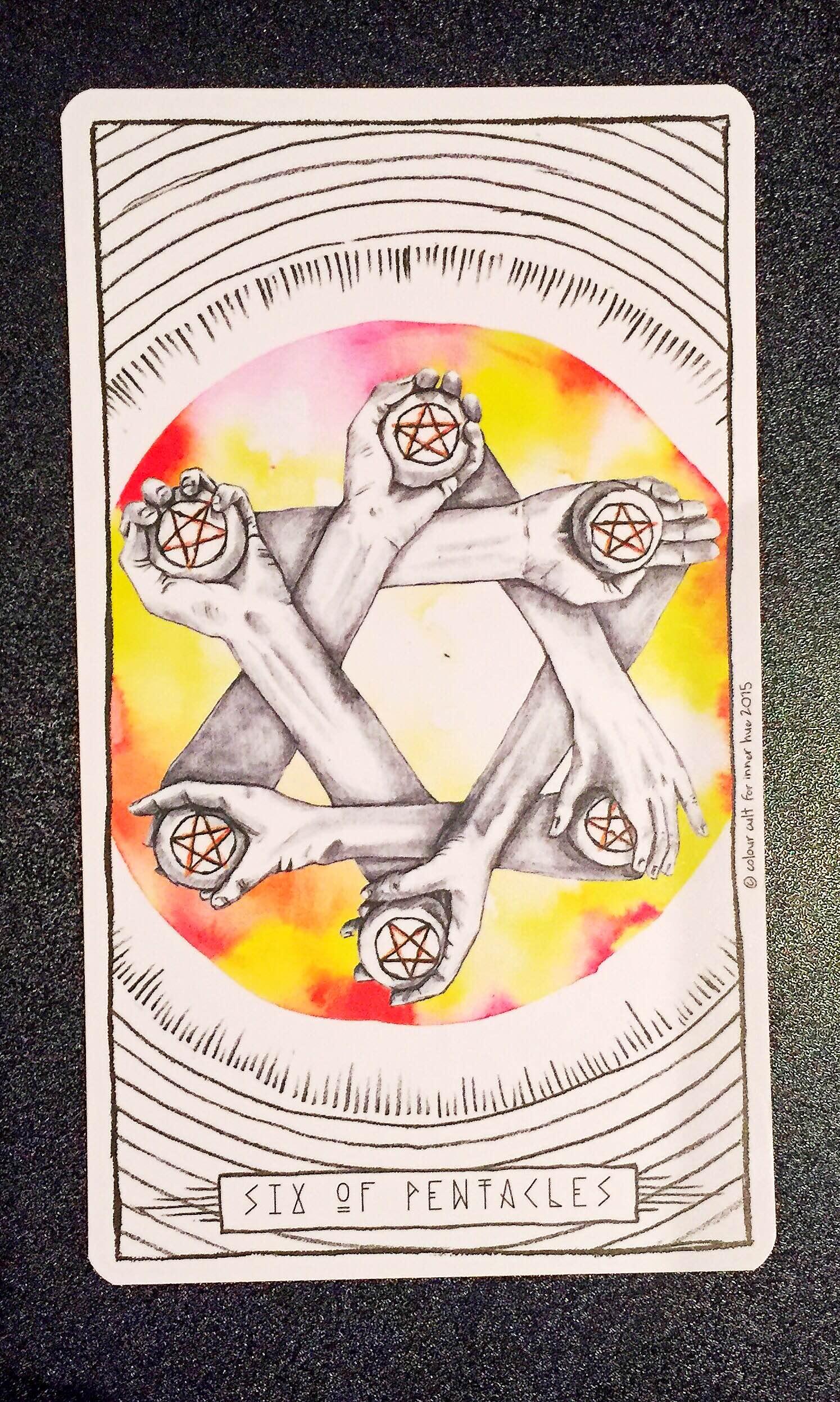 6 of Pentacles - Lumina