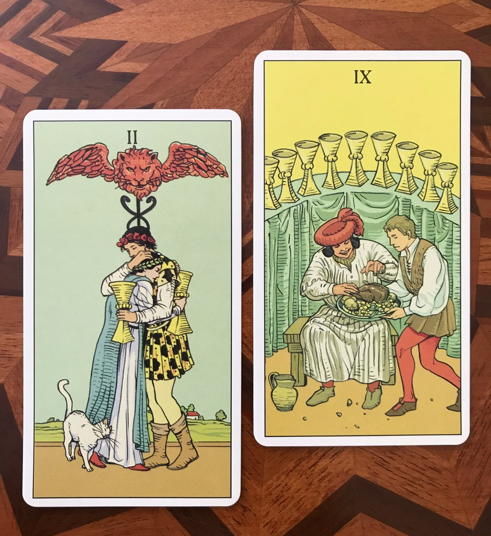 After Tarot - Favorite Cups Cards
