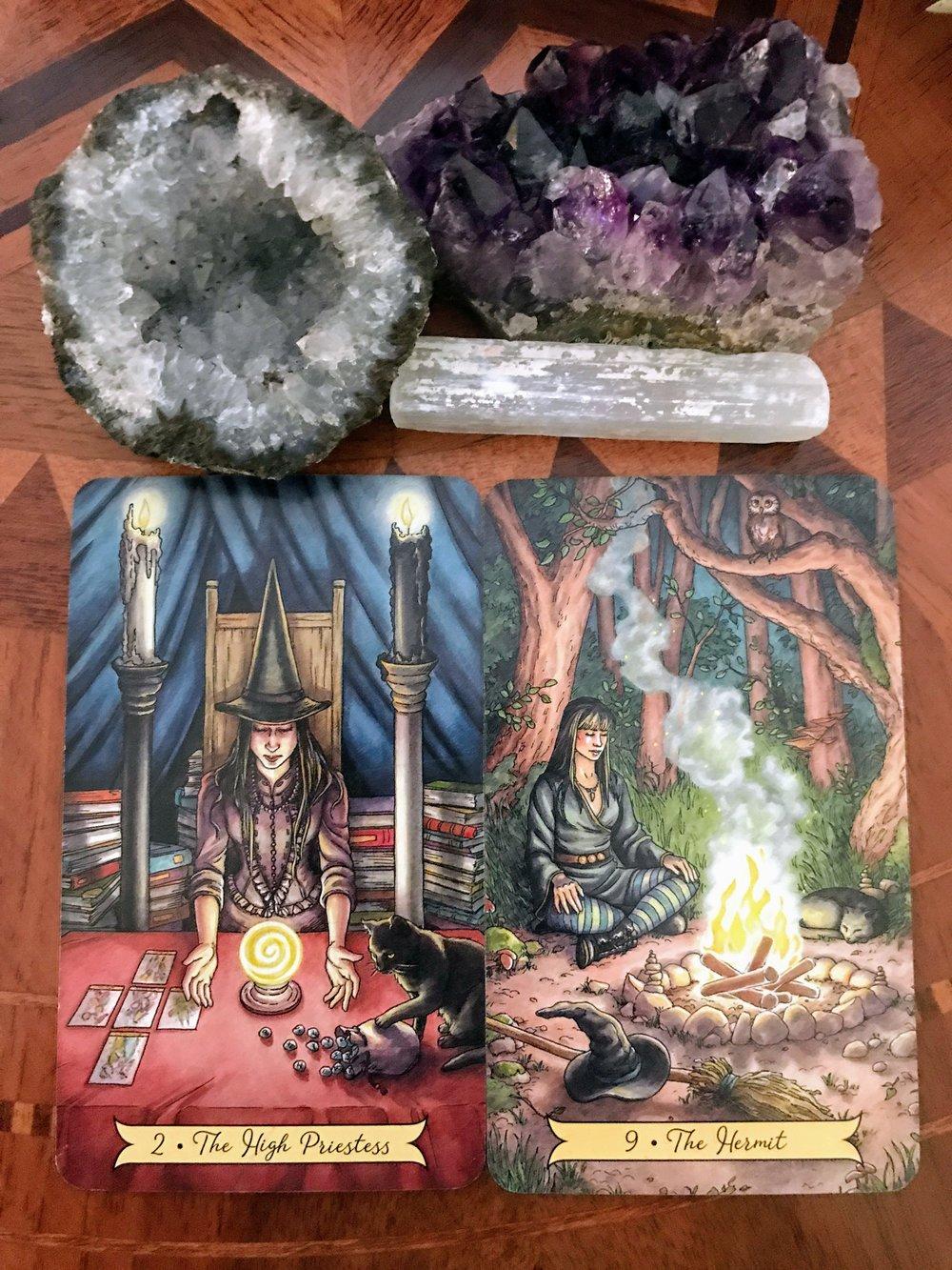 Crystals & Cards - Spiritual.JPG