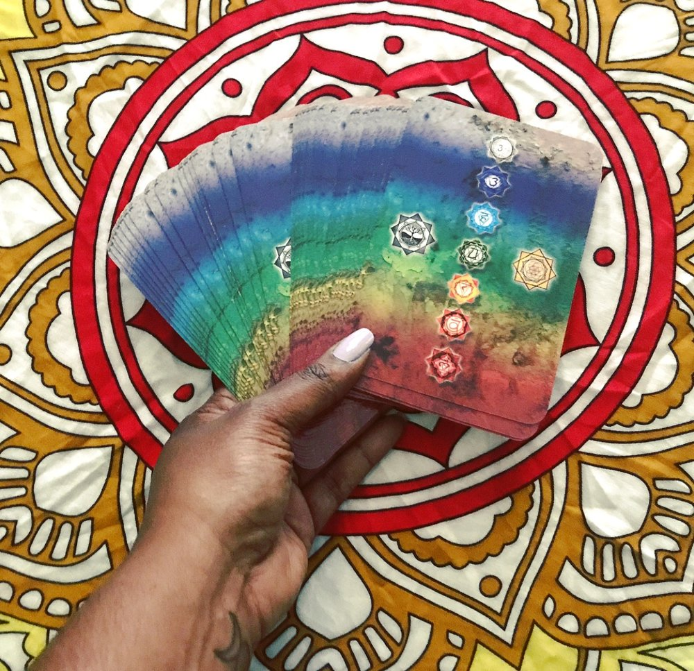 Deck: Chakra Reading Cards (Rockpool Publishing, 2016)