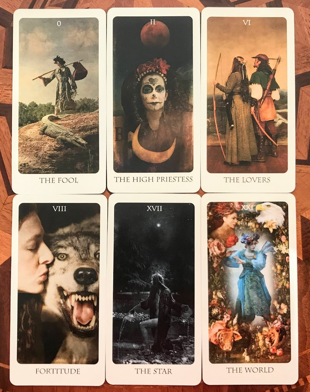 Favorite Major Arcana cards from The Lost Tarot