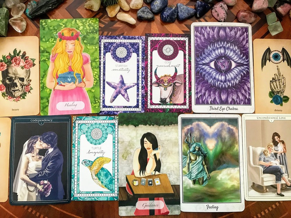 LEARN HOW TO READ ORACLE CARDS ONLINE THIS SUMMER FOR JUST $45!!! CLASS STARTS JULY 11TH! - REGISTRATION OPEN UNTIL JULY 9TH
