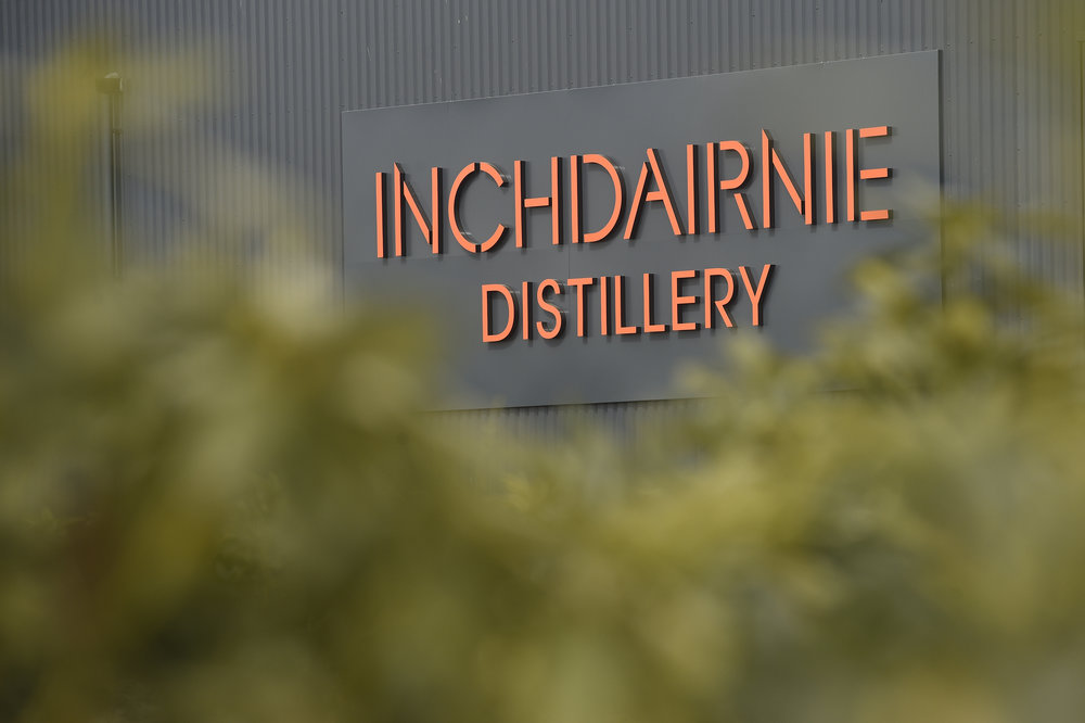 The InchDairnie Distillery features groundbreaking whisky making technology