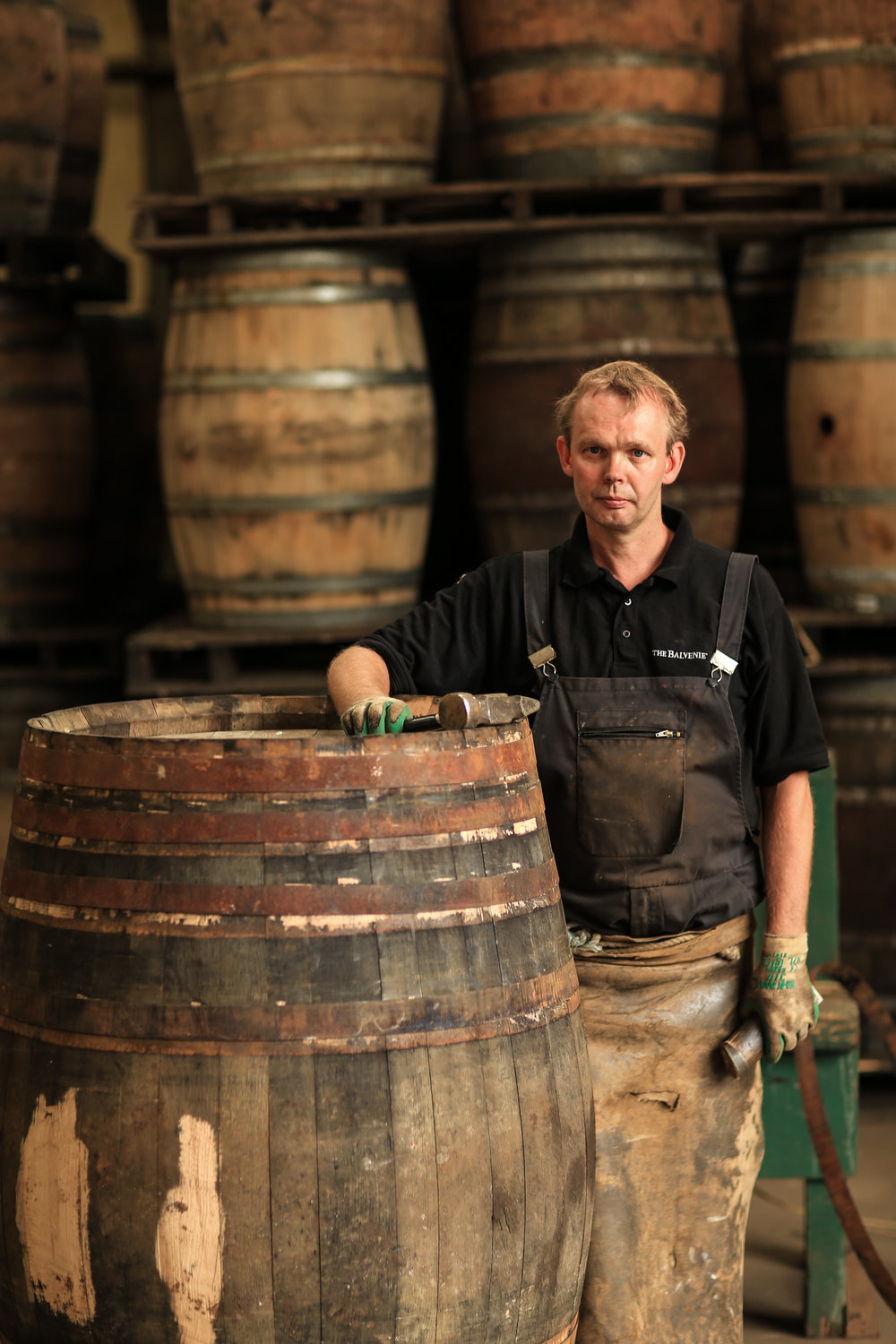 Whisky making in its most traditional form.