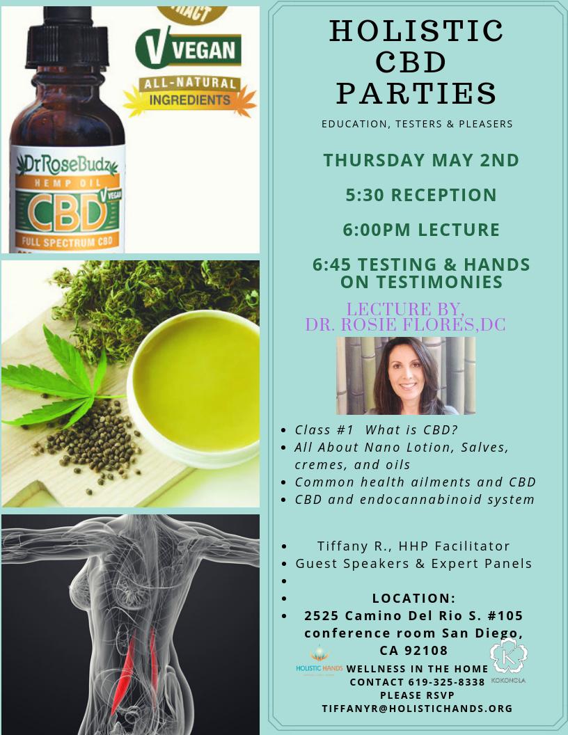 Holistic CBD PARTIES — Holistic Hands San Diego