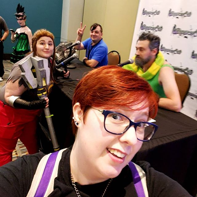 PixelStories crew causin trouble at #connecticon