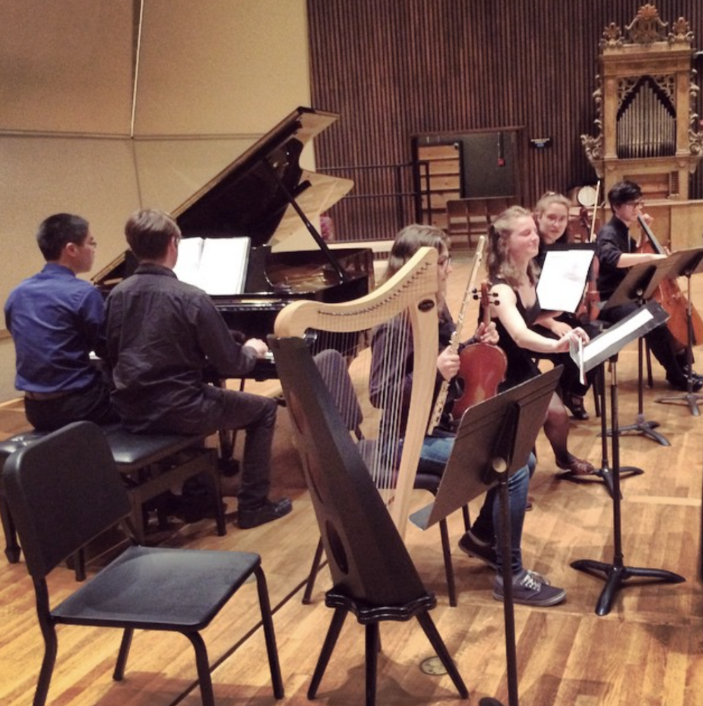 Cal Composers Club performance //Berkeley Hertz Hall
