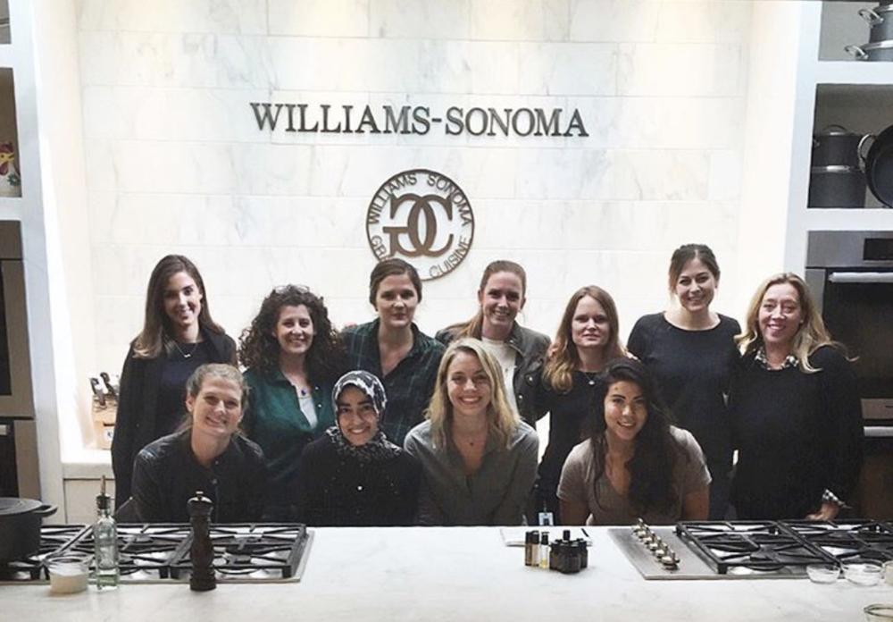 Williams-Sonoma Headquarters Wellness Class // San Francisco // taught by Jenna