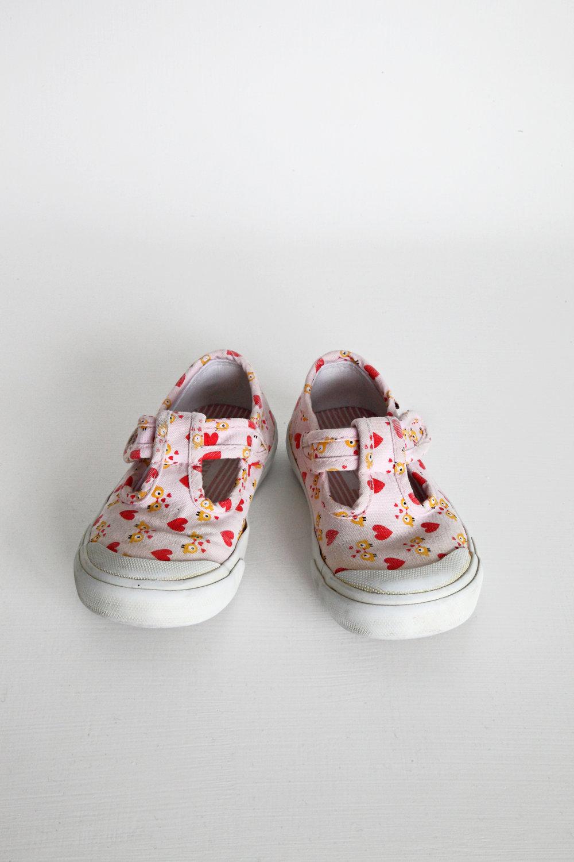 Pink Hearts -   Oshkosho   - Size 7