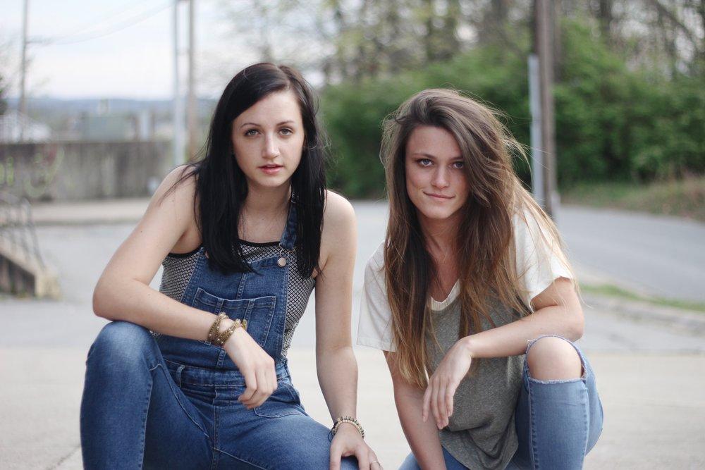 Chloe Strickland (left) & Steffi Gibson (right)