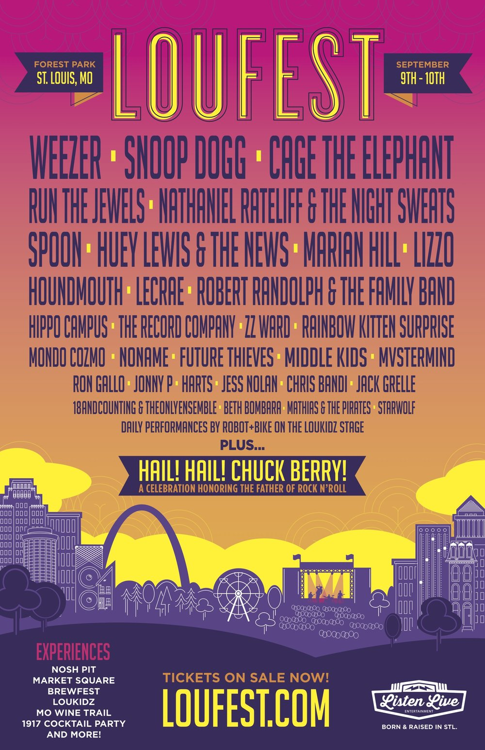 OFFICIAL LOUFEST LINEUP -
