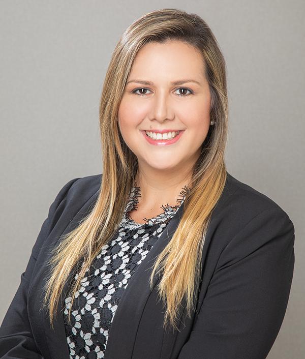 Giannina Sánchez-Ferrer Tarté  Gerente del Departamento Legal GVA