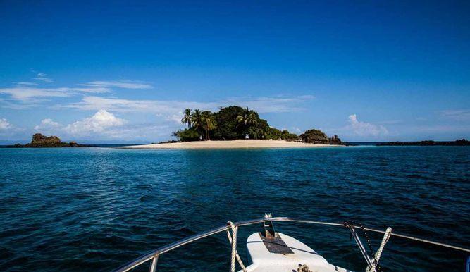 Islas del Caribe panameño.