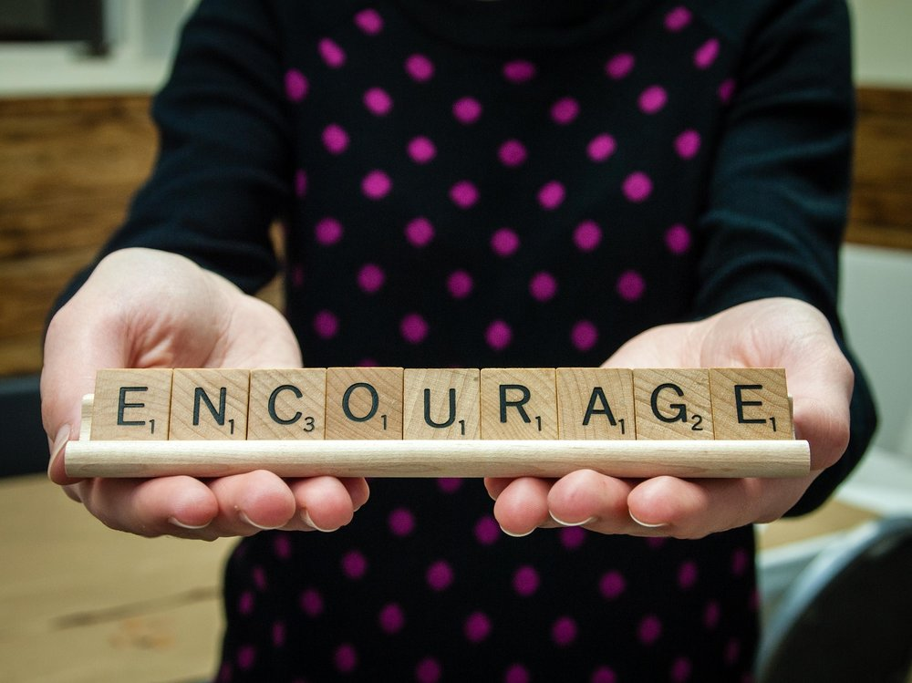 Doing Good. Encourage