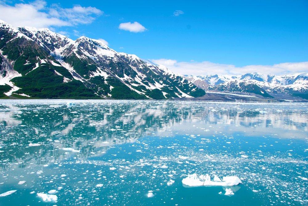 Ice in Alaska
