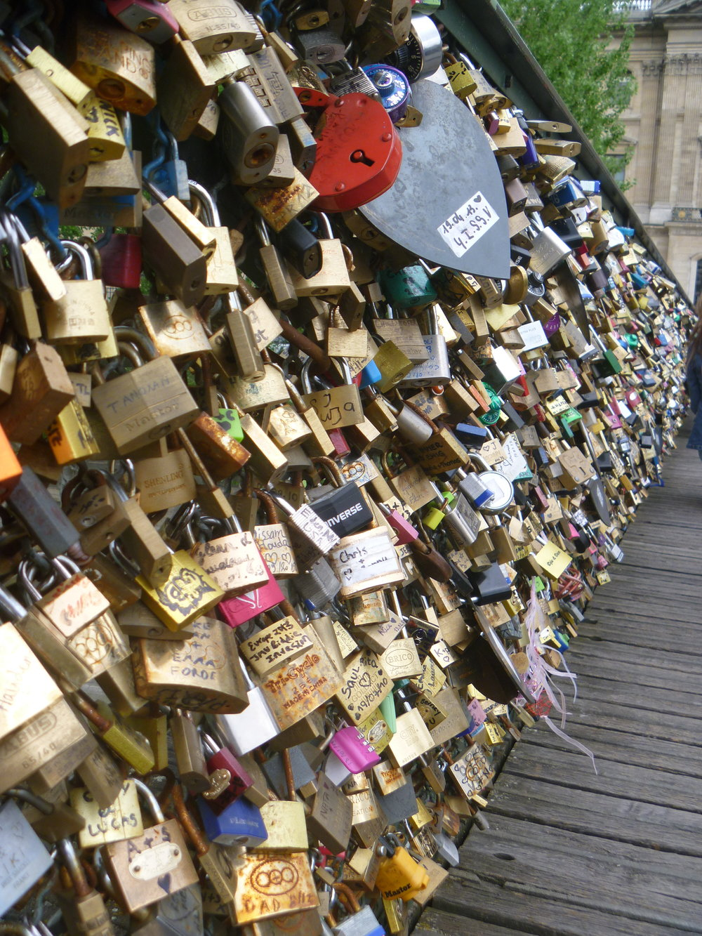 Lover's Bridge, Paris